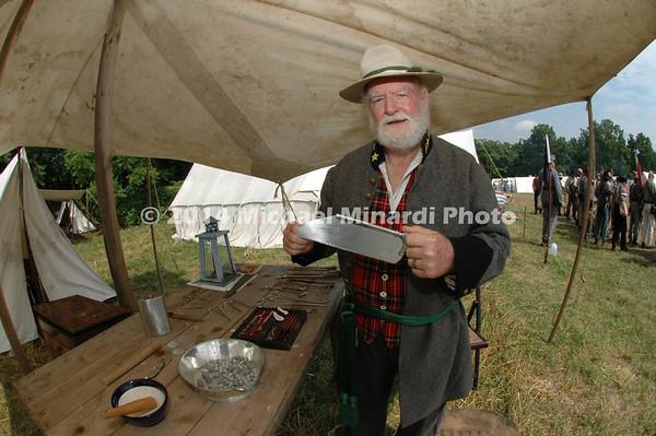 Ray Billings reenactor as Surgeon of the 47th Virginians DSC_2763