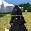 Grieving widow reenactor MIN_7744B