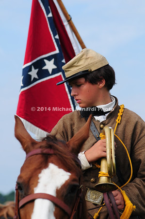 Child bugler in Confederate Army  MIN_9326