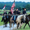 Union cavalry goes on review prior to a battleMIN_9192