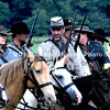 Rebel cavalry ready to charge in East Cavalry Field Battle MIN_9281B