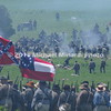 The Confederates break through the Union lines in Pickett's Charge but were repelled MIN_9821