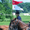 Union cavalry soldiers ride out of camp MIN_9000