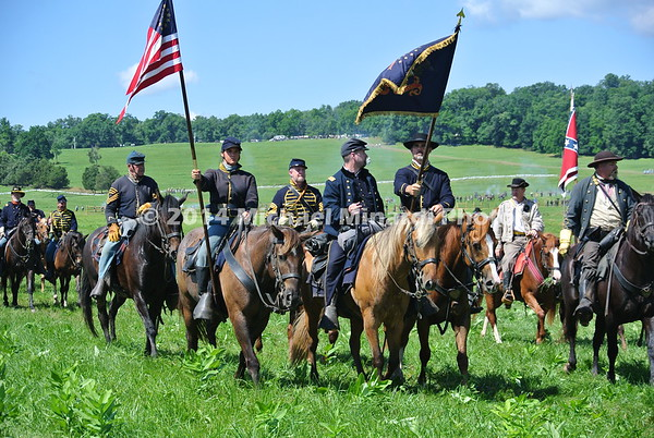 Union Cavalry on review  DSC_2243