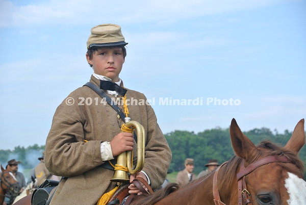 Child bugler in the Civil War DSC_2310
