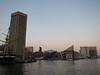 Baltimore Inner Harbor at dusk