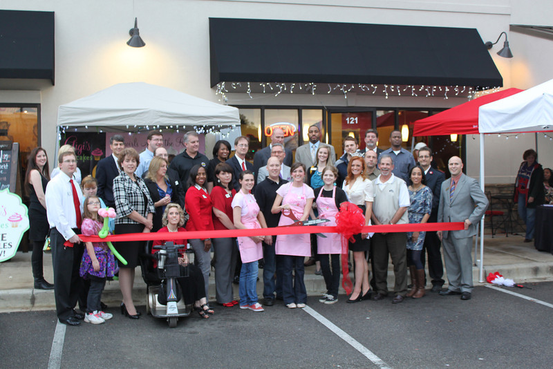 GiGi's Cupcakes Ribbon Cutting