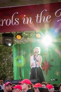 Amber Nichols - Carols in Town Park - 20th December 2015