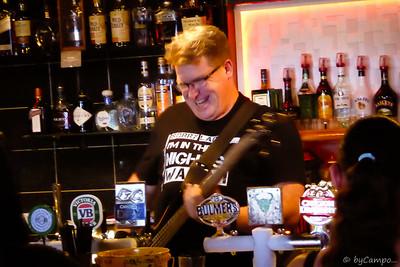 Bassman behind the Bar