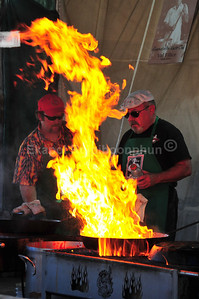 """Chicken """"Stir-fire"""" Garlic."""