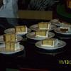 Sheet cake ready to eat