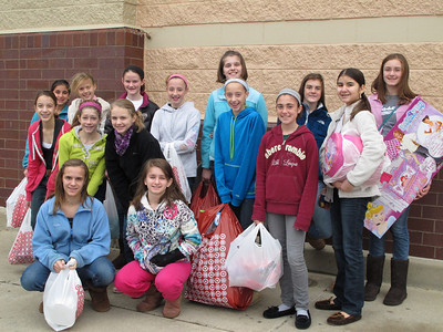 Girl Scouts Christmas Shopping and Party