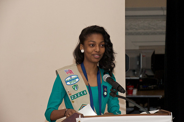 Girl Scouts Second Century Circle  Breakfast at the Piedmont Driving Club.