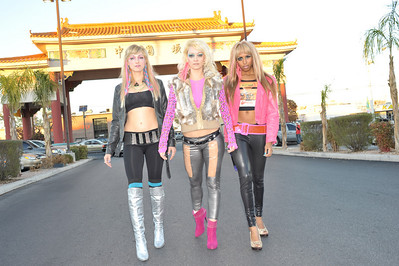 girl band pride and the vanities laser dream