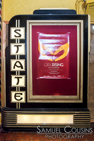 CIEE sponsored a showing of 'Girl Rising' rising at the State Theatre.