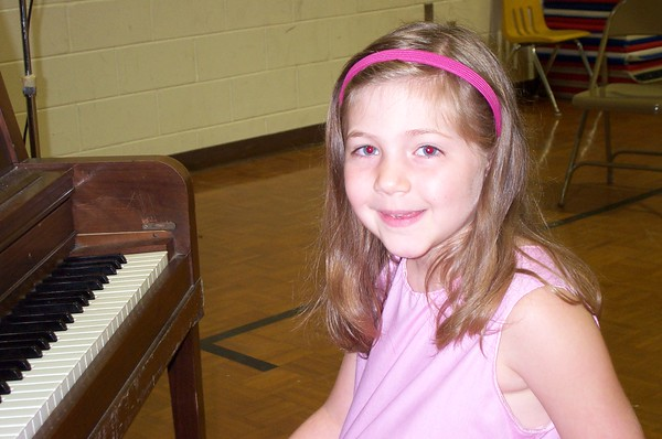 Girl's First Piano Recital