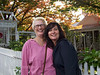"Susan and me in front of this lovely, ""tea room/shop."" I just love this place as you will see in the photo's to follow."