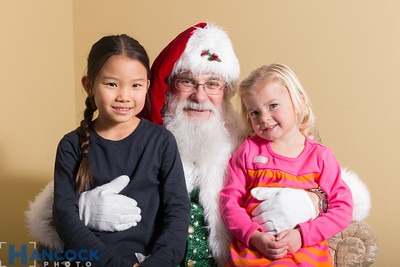 Gladney Milk & Cookies with Santa