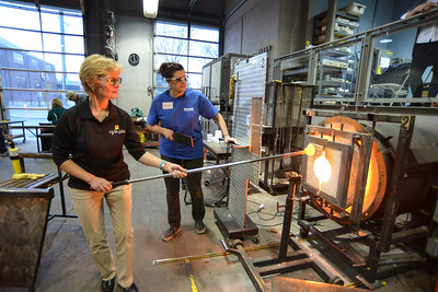 Glass Blowing Event