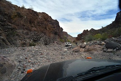 Canyon Enmedio was a pretty rocky ride