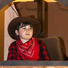 "Glastonbury, UK, 18th November 2017, Hillview Junior Carnival Club float ""Yee Ha!"" at the 2017 Glastonbury Carnival"