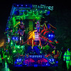 "Glastonbury, UK, 18th November 2017, Toppers Carnival Club float ""Ant Warriors"" at the 2017 Glastonbury Carnival"