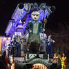 "Glastonbury, UK, 18th November 2017, Marina Sydenham Junior Carnival Club float ""Jack!"" at the 2017 Glastonbury Carnival"