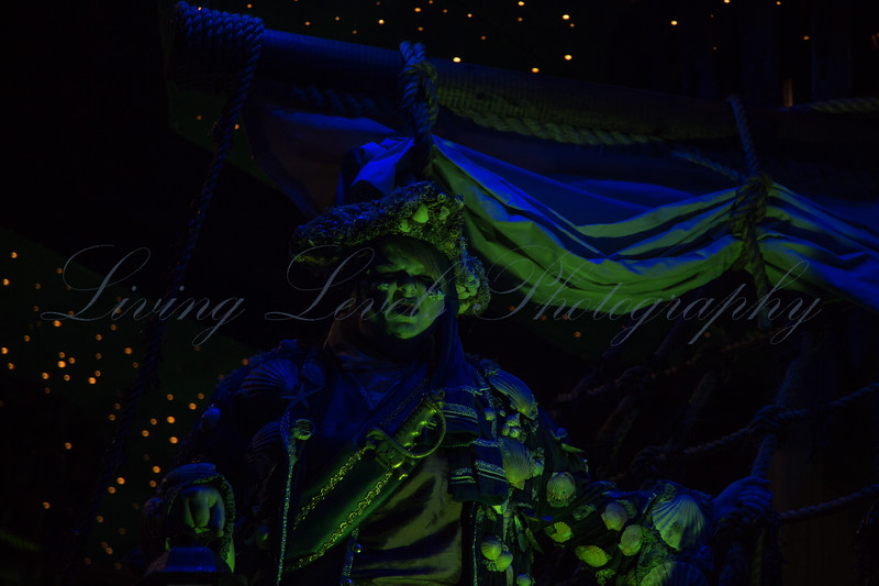 "Glastonbury, UK, 18th November 2017, Huckyduck Carnival Club float ""The Flying Dutchman"" at the 2017 Glastonbury Carnival"
