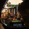 "Glastonbury, UK, 18th November 2017, Newmarket Carnival Club float ""Naggers (You Won't Stop Talking)"" at the 2017 Glastonbury Carnival"