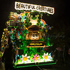 "Glastonbury, UK, 18th November 2017, Harlequin Carnival Club float ""Beautiful Creatures"" at the 2017 Glastonbury Carnival"