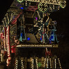 "Glastonbury, UK, 18th November 2017, Globe Carnival Club float ""White Magic"" at the 2017 Glastonbury Carnival"