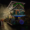 "Glastonbury, UK, 18th November 2017, Cobra CC float ""Twas The Rush Before"" at the 2017 Glastonbury Carnival"