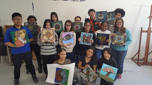 Project Week - Mosaic Art & Screen Printing