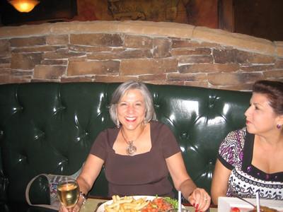 Gloria Zamora's Visit July 2008