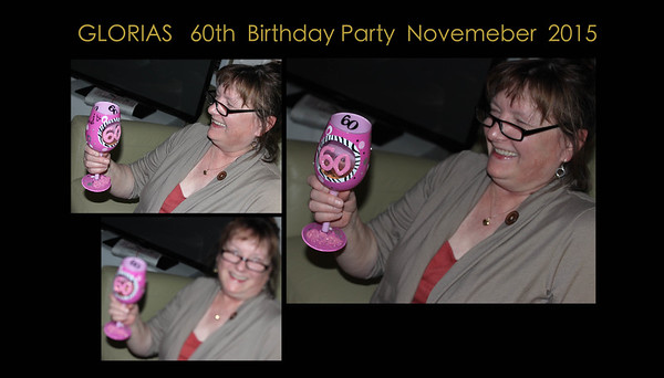 glo's 60th birthday party