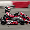 A kart speeds along the track during the Mayor's Cup Grand Prix presented by the Anderson Sertoma Club at the Mounds Mall.