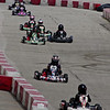 Racers stream down the back-stretch during the Mayor's Cup Grand Prix presented by the Anderson Sertoma Club.