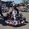 Kart racer Preston Taylor of Indianapolis is ready to take to the track.