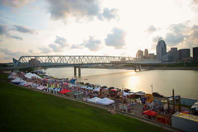 Goettafest brings a large crowd to the river in Newport, KY