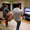Jon and Elia duke it out on  the Kinect