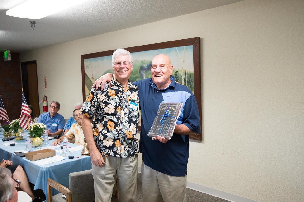 Kiwanian of the Year, Al Schafer
