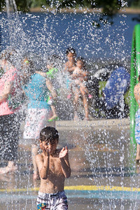 Golden Spike Days 2013, Port Moody, BC. Water park fun.