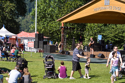 Golden Spike Days 2013, Port Moody, BC. Tri Cities Got Talent Contest.