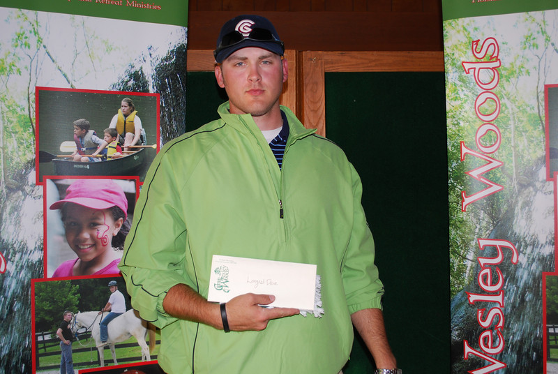 Winner--Second Place Longest Drive Hole 11: Chris Smith