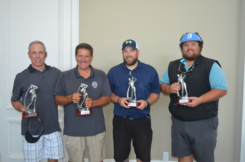 Championship Course: Second Place - Doug Olson, Manny Papidakis, Kyle Hamlin and Taylor Williamson, all with EyeSite Surveillance, Inc