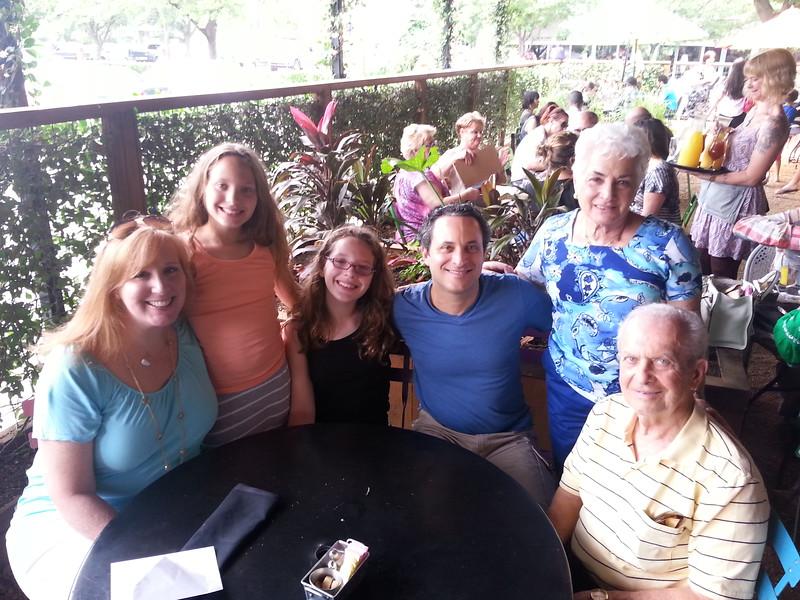 Mother's Day-2015_Amy, Herb, Jacki, Bill, Alexa, Serena