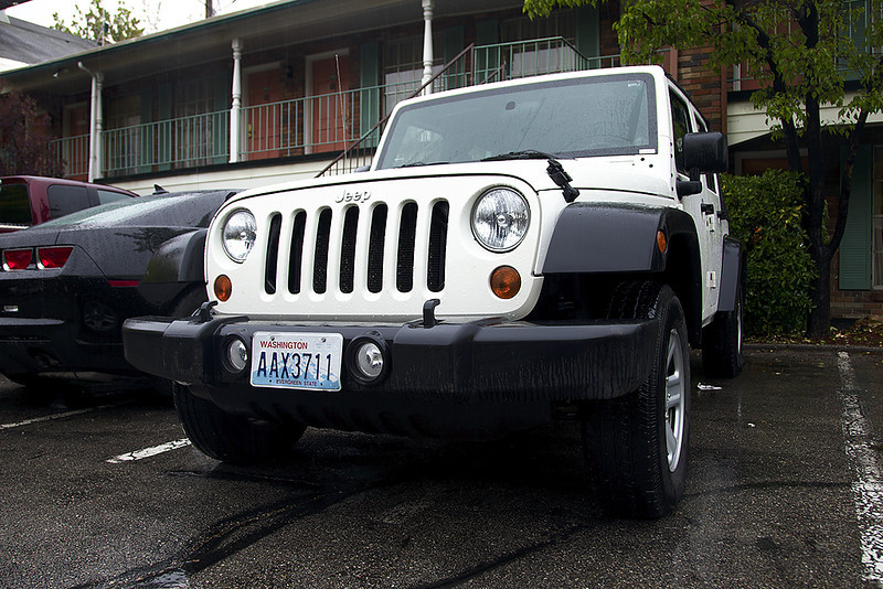 Наша арендованная тачка, Jeep Wrangled 5 doors 3.8l AT
