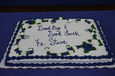 Goodbye Fr. Steve Flynn