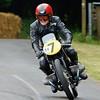 Sammy Miller 1954 BMW Rennsport 492cc 2 cyclinder four stroke Festival of Speed 2014