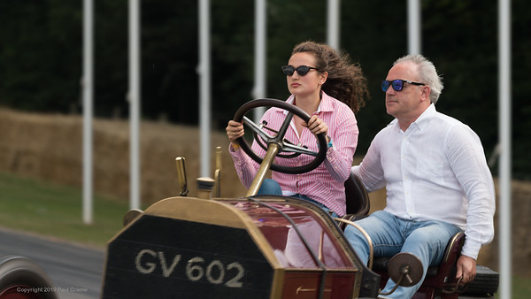 1903 Mercedes 60HP - Felicity Collings - Goodwood Festival of Speed -  July 2019